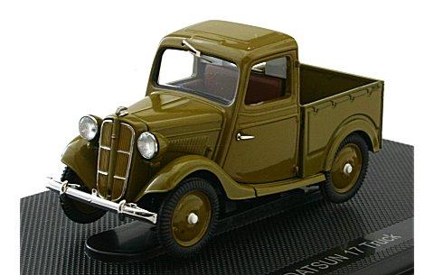 ダットサン 17型 トラック ブラウン (1/43 エブロ44349)