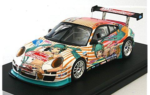 ポルシェ 911 GTR 初音ミク×GSR ポルシェ タイプC (1/43 グッドスマイルレーシング )