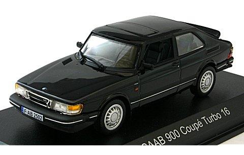 サーブ 900 クーペ ターボ 16 1991ブラック (1/43 ノレブ810030)