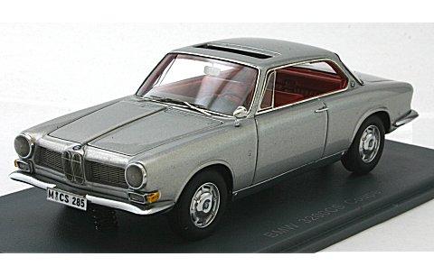 BMW 3200 CS ベルトーネ 1961 シルバー (1/43 ネオNEO44285)