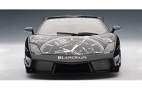 ランボルギーニ ガヤルド LP560-4 スーパートロフェオ ブラック/ブランパンNo1(1/18 オートアート74686)