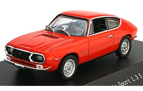 ランチア フルビア スポーツ 1.3 S 1968 レッド イタリア (1/43 スターライン560221)