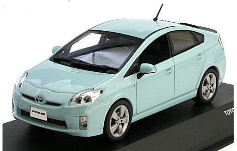 トヨタ プリウス 2009 アクアブルーM (1/43 JコレクションJC61005BL)