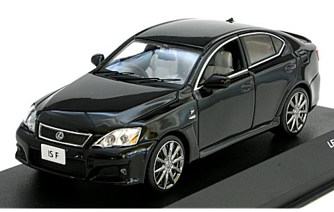 レクサス IS F 2008 ブラック (1/43 JコレクションJC49006BK)