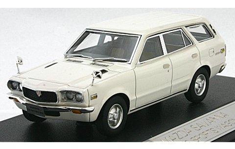 マツダ サバンナ スポーツワゴン GR 1972 ホワイト (1/43 ハイストーリーHS034WH)