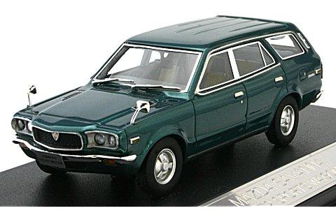 マツダ サバンナ スポーツワゴン GR 1972 グリーンM (1/43 ハイストーリーHS034GR)