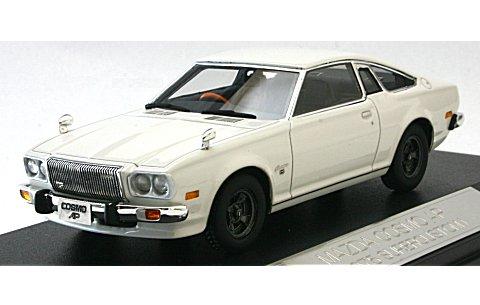 マツダ コスモ AP 1975 マーガレットホワイト (1/43 ハイストーリーHS035WH)