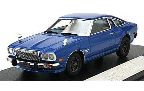 マツダ コスモ AP 1975 ウインザーブルーM (1/43 ハイストーリーHS035BL)