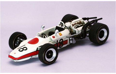 ホンダ RA302 F1 No18 1968 フランスGP (1/20 エブロ22007)
