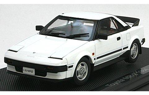 トヨタ MR-2 1984 ホワイト (1/43 エブロ44404)