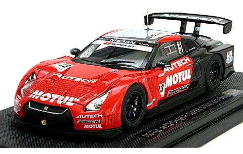 モチュール オーテック GT-R スーパーGT500 2011 岡山テスト (1/43 エブロ44534)