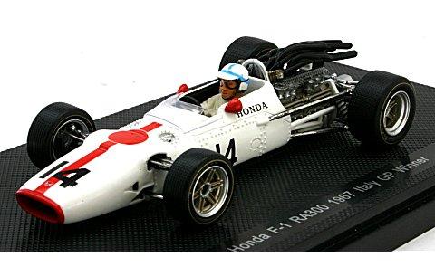 ホンダ RA300 1967 イタリアGP ウイナー No14 (1/43 エブロ44263)