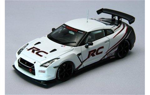 ニッサン ニスモ GT-R RC ホワイト (1/43 エブロ44442)