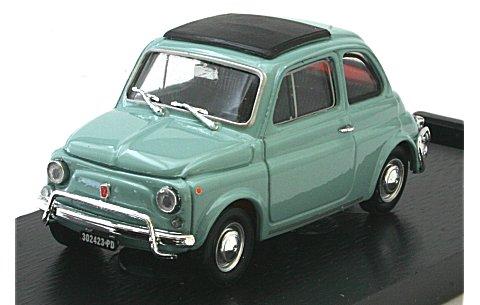 フィアット 500L (1968-1972) クローズドルーフ ガルダグレー (1/43 ブルムR465-10)