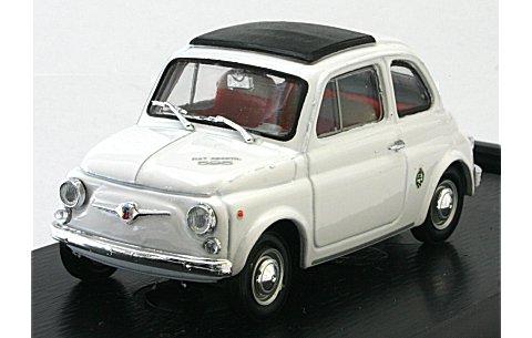 フィアット 595SS アバルト ストラダーレ 1965 ホワイト (1/43 ブルムR461)