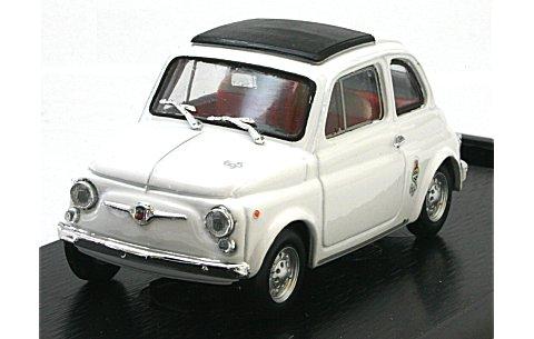 フィアット 695SS アバルト ストラダーレ 1965 ホワイト (1/43 ブルムR462)