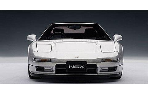 ホンダ NSX セブリングシルバーM (1/18 オートアート73272)