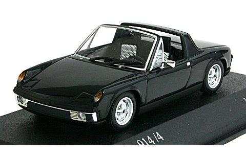 フォルクスワーゲン ポルシェ 914/4 1973 ブラック (1/43 ミニチャンプス430065671)