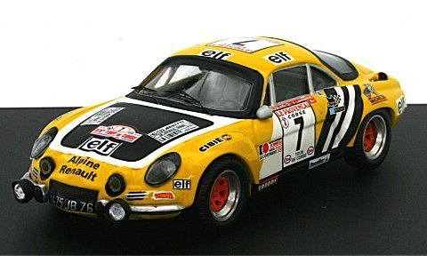 アルピーヌ ルノー A110 1975 ツール・ド・コルス2位 No7 (1/43 トロフュー827)