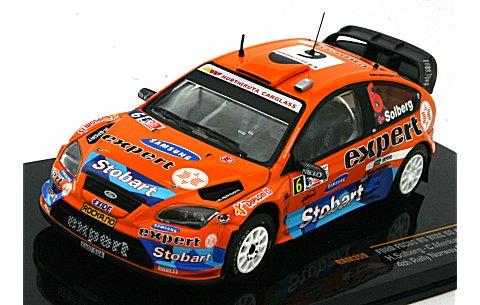 フォード フォーカス RS WRC 08 2009 ラリー・ノルウェー 4位 No6 (1/43 イクソRAM359)