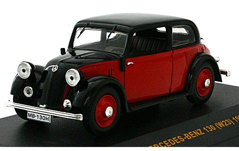 メルセデス 130 (W23) 1934 レッド/ブラック (1/43 イクソMUS026)