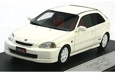 ホンダ シビック 1997 TypeR チャンピオンシップホワイト (1/43 ハイストーリーHS040WH)