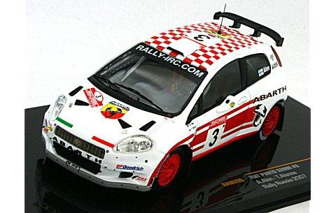 フィアット プント S2000 アバルト 2007 ラリー・ロシア No3 (1/43 イクソRAM289)