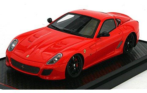 フェラーリ 599 GTO 2010 スクーデリアレッド 323 (1/43 BBR BBRC35RS)