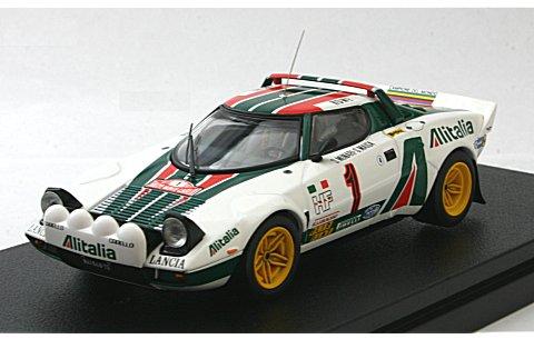 ランチア ストラトス HF No1 1977 モンテカルロ (1/43 hpiレーシング8290)