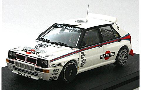 ランチア デルタ HF インテグラーレ 1991 テストカー (1/43 hpiレーシング8222)