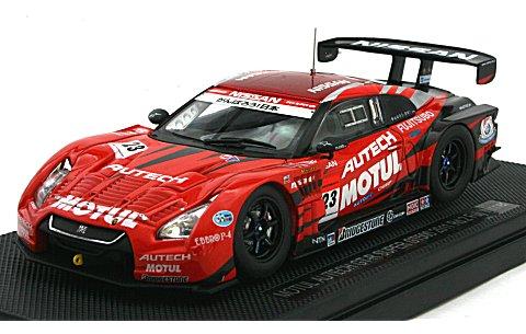 モチュール オーテック GT-R スーパーGT500 2011 No23 (1/43 エブロ44541)
