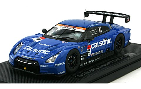 カルソニック インパル GT-R スーパーGT500 2011 No12 (1/43 エブロ44542)