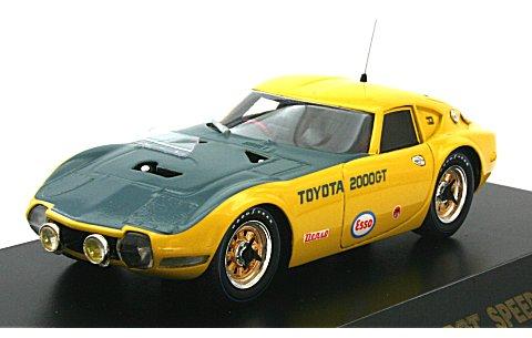 トヨタ 2000GT 速度記録車 (1/43 QモデルQMC038)