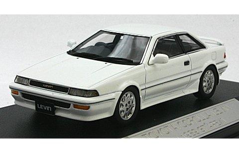 トヨタ カローラ レビン GT-APEX 1989 スーパーホワイトII (1/43 ハイストーリーHS039SP1)