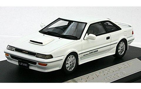トヨタ カローラ レビン GT-Z 1989 スーパーホワイトII (1/43 ハイストーリーHS039WH)