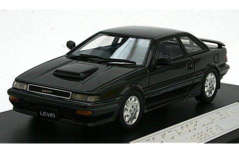 トヨタ カローラ レビン GT-Z 1989 ブラックマイカ (1/43 ハイストーリーHS039BK)
