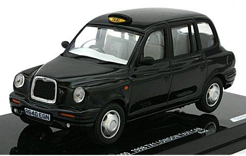 TX1 ロンドンタクシーキャブ 1998 ブラック (1/43 ビテス10200)