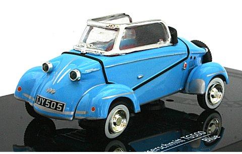 メッサーシュミット タイガー TG500 1959 ブルー (1/43 ビテス29002)