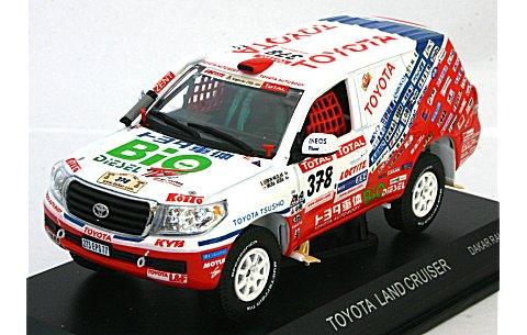 トヨタ ランドクルーザー 2009 ダカールラリー (1/43 ノレブ800357)