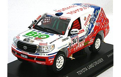 トヨタ ランドクルーザー 2010 ダカールラリー No341(1/43 ノレブ800359)