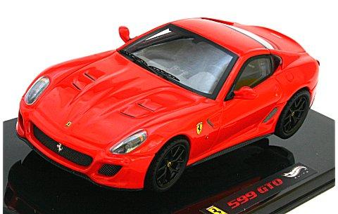 フェラーリ 599GTO ロッソスクーデリア (エリートシリーズ) (1/43 マテルMT6933T)