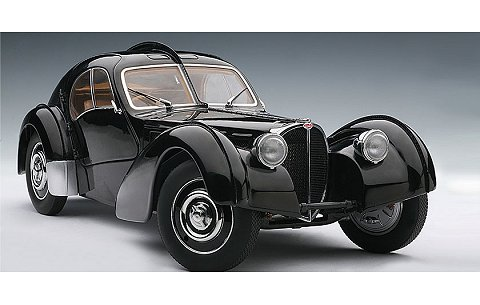 ブガッティ タイプ 57S アトランティック 1936 ブラック (1/18 オートアート70941)