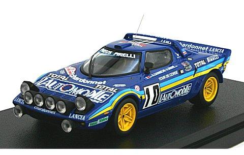 ランチア ストラトス HF No10 1981 ツール・ド・コルス優勝 (1/43 hpiレーシング8239)