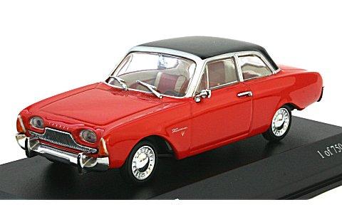 フォード タウナス 1960 レッド/ブラック (1/43 ミニチャンプス430085109)
