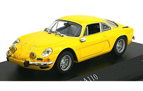 ルノー アルピーヌ A110 1971 イエロー (1/43 ミニチャンプス430113606)