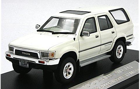 トヨタ ハイラックス 4WD サーフ 1989 4ドア SSR LIMITED ホワイト (1/43 ハイストーリーHS041WH)
