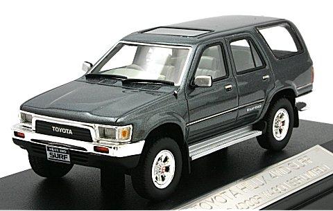 トヨタ ハイラックス 4WD サーフ 1989 4ドア SSR LIMITED ブルーグレイマイカ (1/43 ハイストーリーHS041BG)
