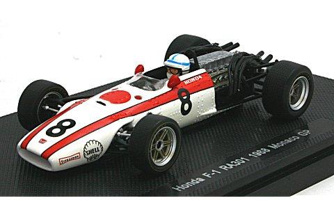 ホンダ RA301 1968 モナコGP No8 (1/43 エブロ44265)