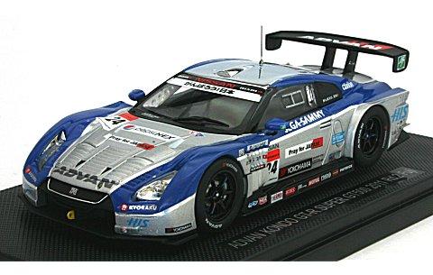 アドバン コンドー GT-R スーパーGT500 2011 No24 (1/43 エブロ44543)