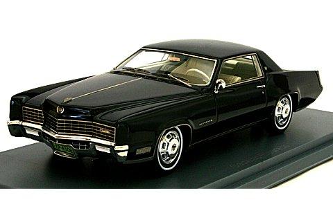 キャデラック エルドラド 2ドア クーペ 1967 グレー/ブラック (1/43 ネオNEO44106